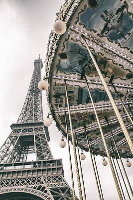 Travel Photograph - When I Dream Of Paris by Georgia Fowler