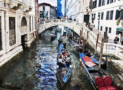 When I Last Saw Venice Art Print