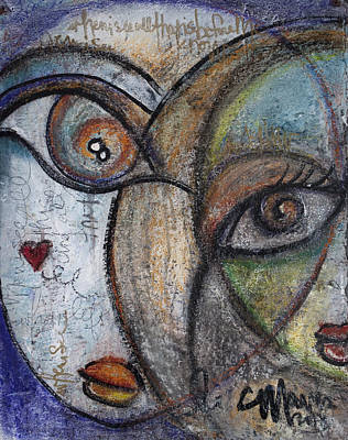 Painting - When I See All That Is Before Me by Laurie Maves ART
