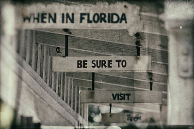 Photograph - When In Florida by Nicholas Evans