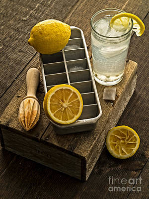 Lemonade Photograph - When Life Gives You Lemons... by Edward Fielding