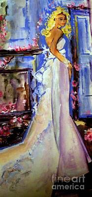 When Lovely Women Print by Helena Bebirian