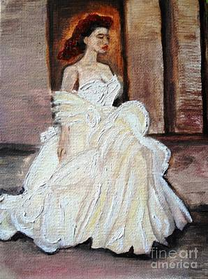 Painting - When Lovely Women II by Helena Bebirian