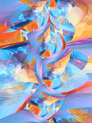 Digital Art - When My Dreams Are God's  by Margie Chapman