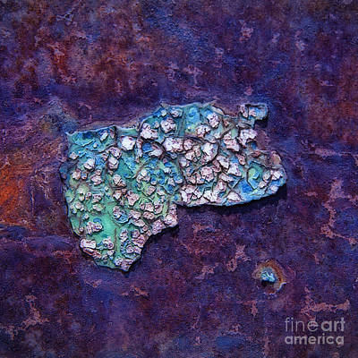 Photograph - When Pigs Fly Abstract Square by Lee Craig