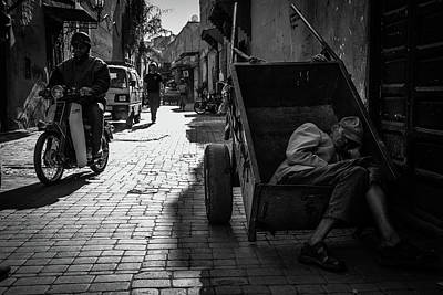 Morocco Photograph - When Sleep Overwhelms by Christian Anker Knudsen
