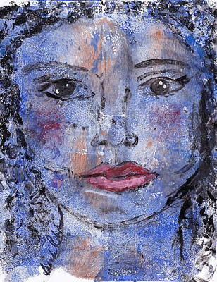 Painting - When Sunni Is Blue by Brenda Robinson