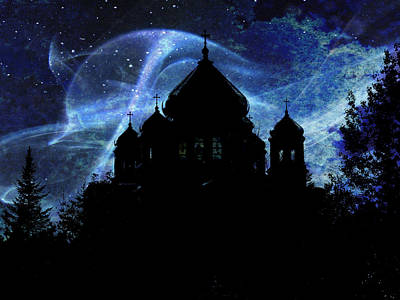 When The Night Comes Art Print by Zinvolle Art