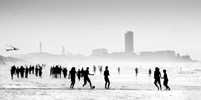 Match Photograph - When The Sun Encounters The Mist ... by Yvette Depaepe