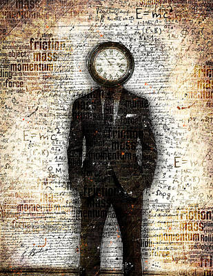 Time Standing Still Art Print by Gary Bodnar
