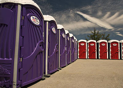 Portable Toilet Photograph   When You Gotta Go You Gotta Go By Hany J