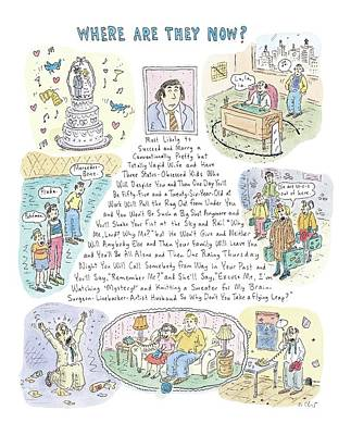 Now Drawing - 'where Are They Now?' by Roz Chast