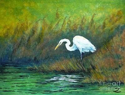 Painting - Where Are You Froggy by Zaira Dzhaubaeva