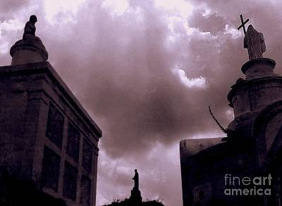 Photograph - Where Bones Exist Spirits Ascend New Orleans Guardians Of The Spirits by Michael Hoard