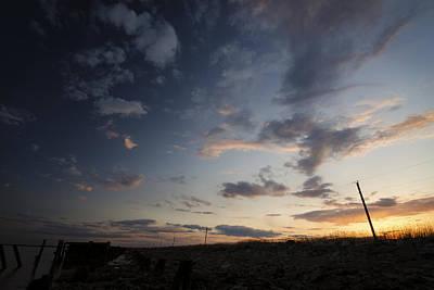 Dusk Photograph - Where Day Meets Dark by Benjamin DeHaven