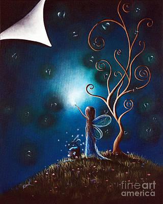 Fairy Art By Shawna Erback Art Print by Shawna Erback