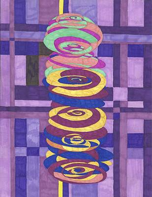 Where Energy And Matter Meet 1 Original by Steve Sommers