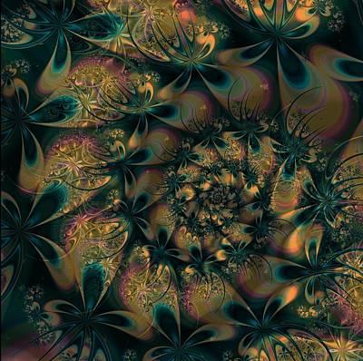 Digital Art - Where Fairies Dance by Connie Dye