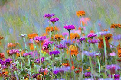 Have Digital Art - Where Have All The Flowers Gone by Bill Cannon