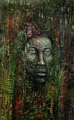 Where Is I Art Print by Edward Ofosu