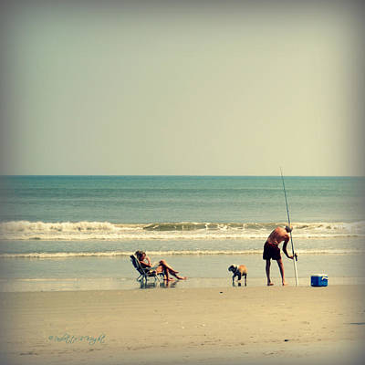 Photograph - Where Is My Fishing Pole by Paulette B Wright