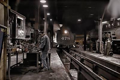 Silverton Colorado Photograph - Where Is My Hammer by Ken Smith