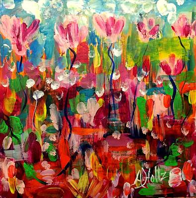 Painting - Where Is Spring? by Arlene Holtz