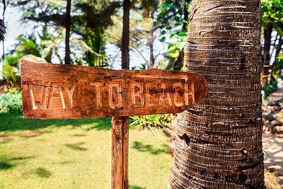 Photograph - Where Is The Beach Please by Kantilal Patel