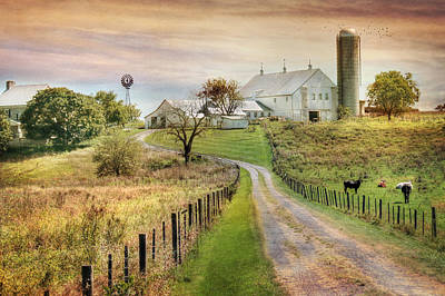 Rural Scenes Digital Art - Where Life Is Found by Lori Deiter