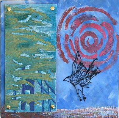 Calendars Mixed Media - Where My Spirit Soars by Elena Kazmier Miranda Radock