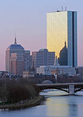 Charles River Photograph - Where Old And New Meet by Juergen Roth
