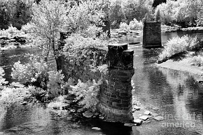 Virginia Ruins Photograph - Where Once A Bridge Stood by Paul W Faust -  Impressions of Light