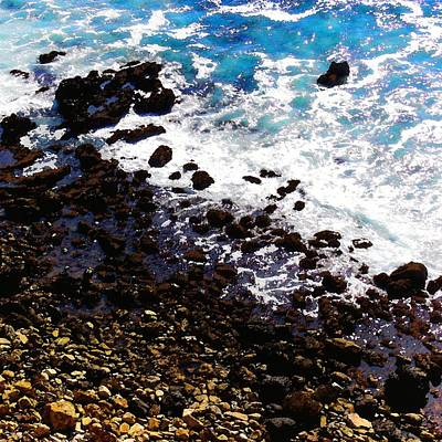 Photograph - Where Sea And Land Meet by Timothy Bulone