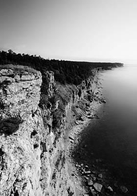 Land Photograph - Where Sea Meets Land by Nicklas Gustafsson