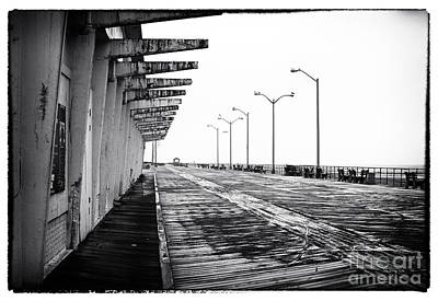 Photograph - Where The Boardwalk Has No Name by John Rizzuto
