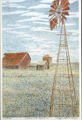 Heartland Drawing - Where The Heart  by Jerry Norris