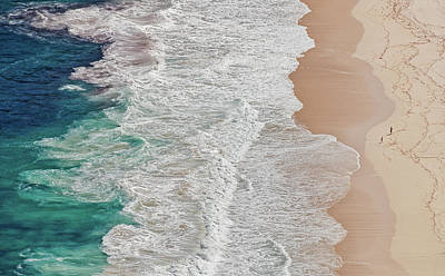 Gradients Photograph - Where The Ocean Ends... by Andreas Feldtkeller