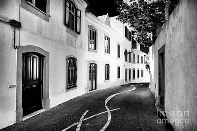 Photograph - Where The Road Leads In Cascais by John Rizzuto