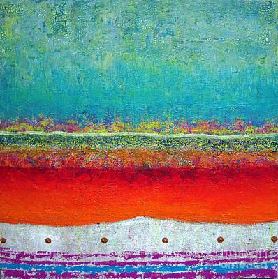 Where The Sand Meets The Sea Art Print by Jeremy Aiyadurai