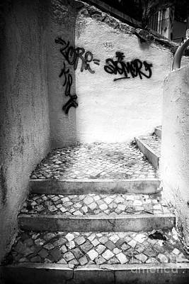 Photograph - Where The Stairs May Lead by John Rizzuto