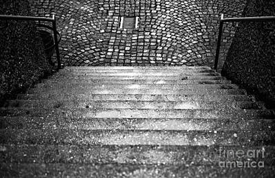 Photograph - Where The Steps Lead In Salzburg by John Rizzuto