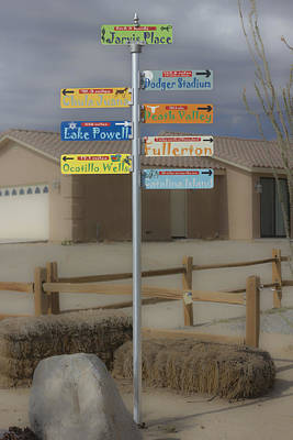 Digital Art - Where To Go To Escape The Desert Heat by Photographic Art by Russel Ray Photos