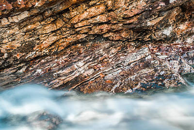 Photograph - Where Water And Rock Collide by Shelby  Young