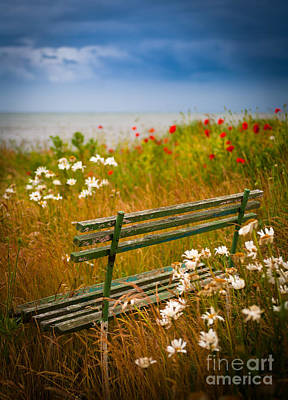 Sverige Photograph - Where We Used To Sit... by Inge Johnsson