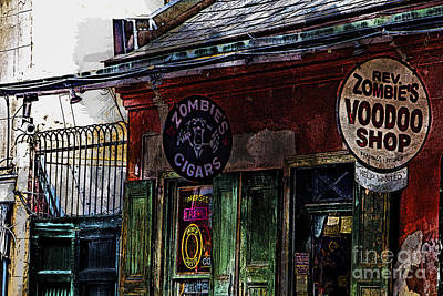 Where Zombies Meets Voodoo  Art Print by Douglas Barnard