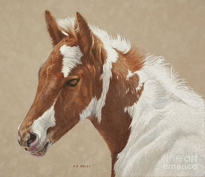 Drawing - Where's Mom by Helen Bailey