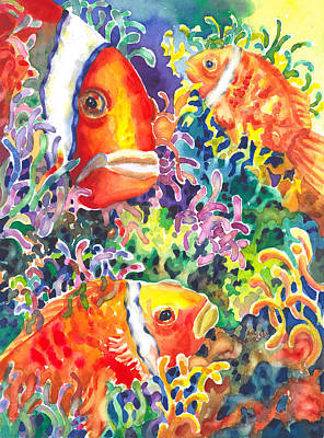 Painting - Where's Nemo I by Ann  Nicholson