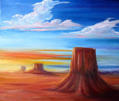 Painting - Where's The Road Runner by Patricia Ragone
