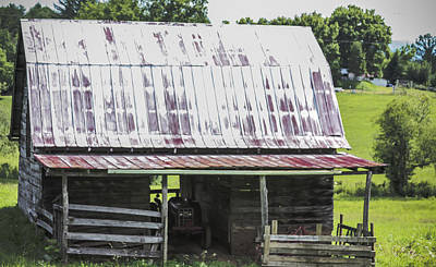 Photograph - Wheres The Tractor by Robert J Andler