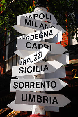 Which Way To Italy Art Print